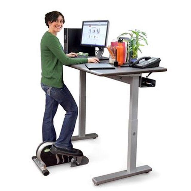 6 elíptica en el escritorio