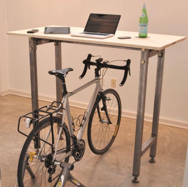 entrenador 7,3 bicicleta en el escritorio 2