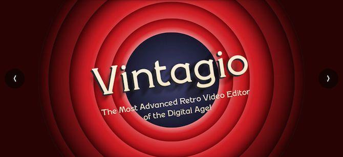 aplicación de vídeo Vintagio