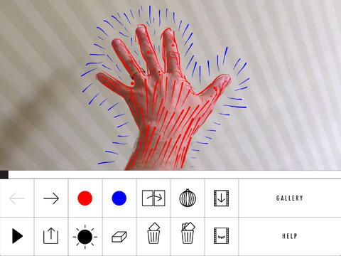 aplicación arte bucle