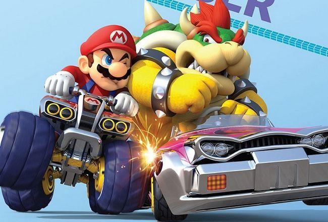 Bowser Mario Kart