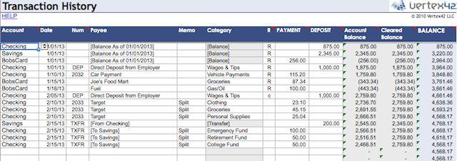 hojas de cálculo-organizar-finanzas