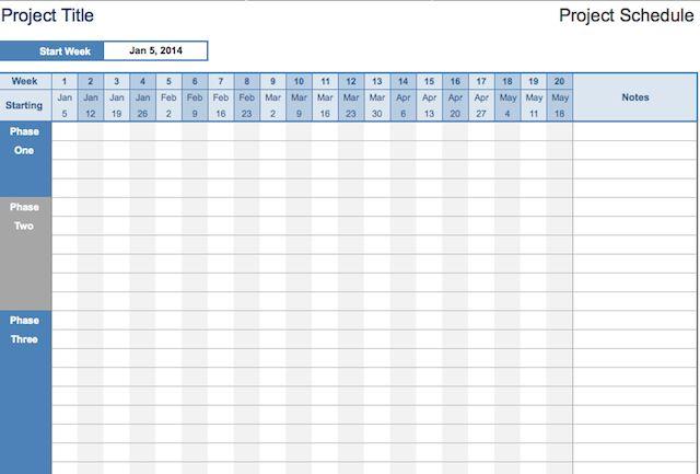 hojas de cálculo-organizar-proyecto