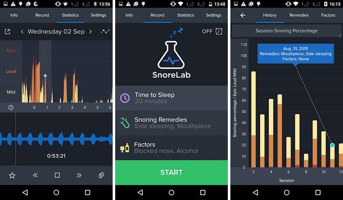 android-sueño-apps-snorelab