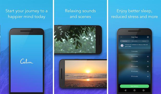 android-sueño-apps-calma