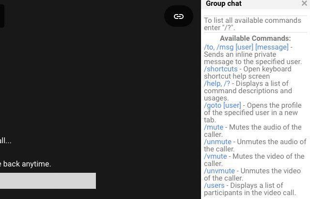 hangouts-chat-comandos