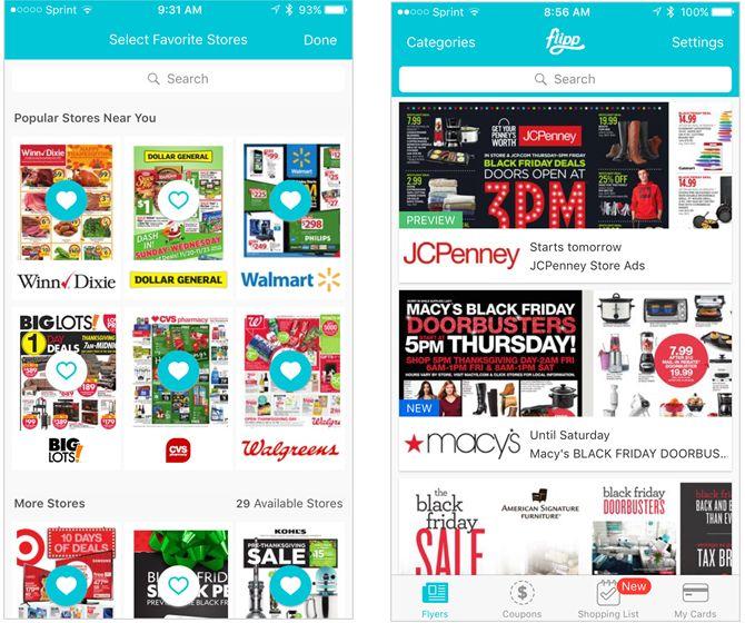 aplicación para el iPhone flipp