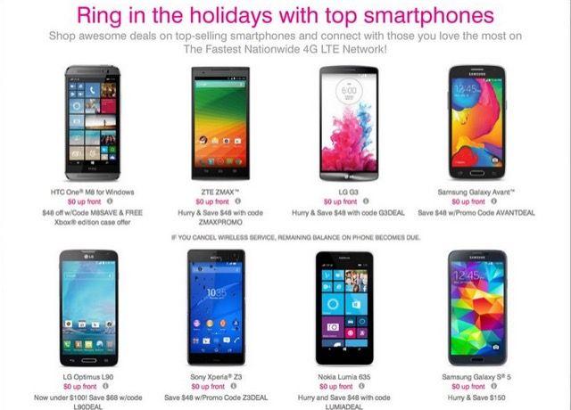 teléfono inteligente de ofertas