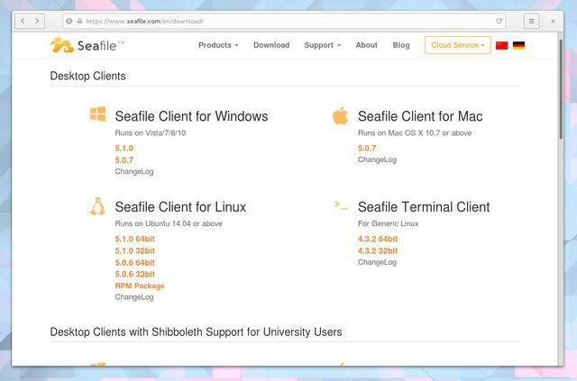 LinuxCloudStorage-Seafile