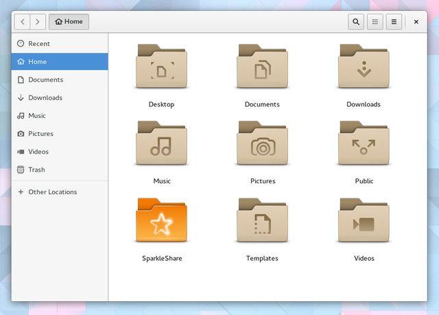 LinuxCloudStorage-SparkleShare