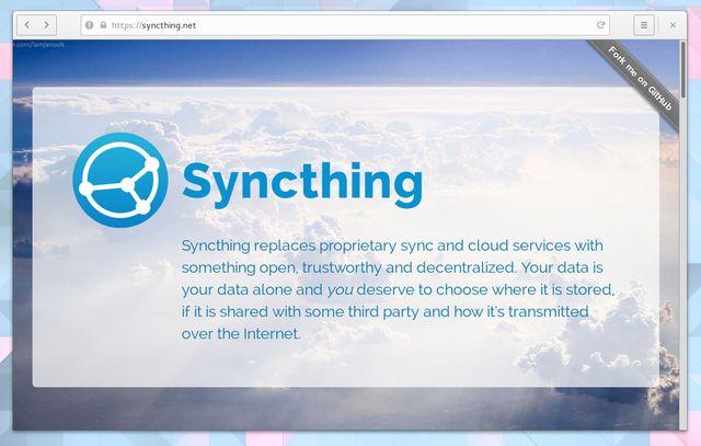 LinuxCloudStorage-Syncthing