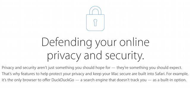 defender su privacidad y seguridad en línea