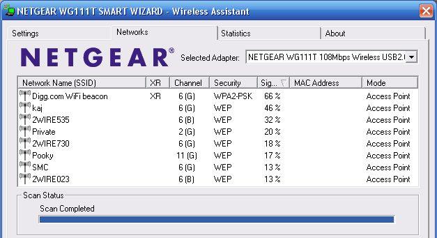 Netgear-SSID
