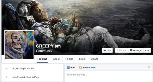 FB pantalla CREEPYism