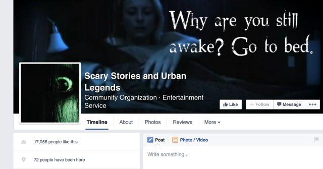 Historias de terror y leyendas urbanas