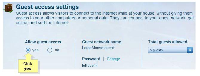 Configuración de acceso de clientes router inalámbrico