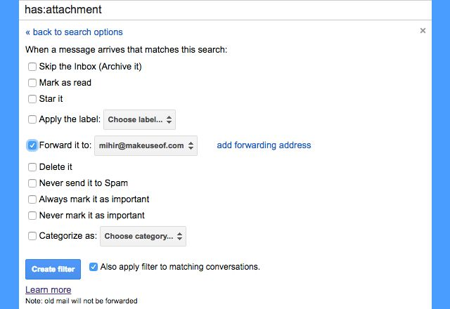 gmail-de insertar filtros-backup