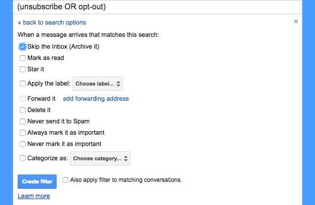 gmail-filtros-darse de baja a aplicar