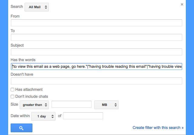 Gmail-filtros--correos electrónicos automatizados