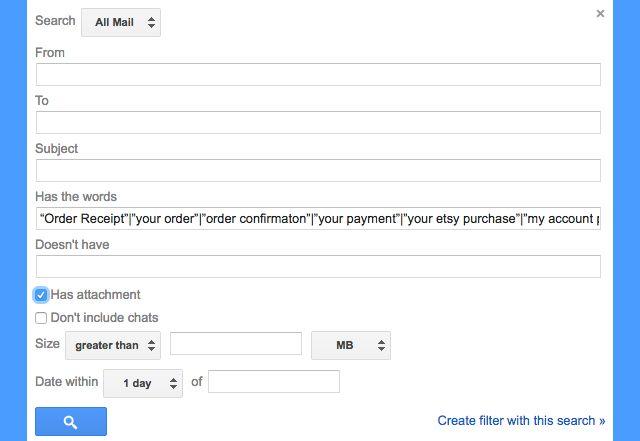 gmail-filtros-recibos-pedidos