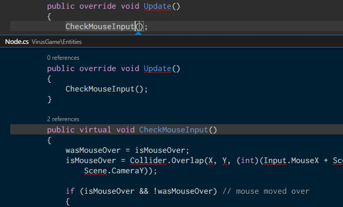 visual-studio-código-inline