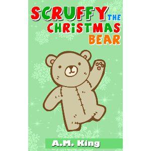 Desaliñado el Oso de Navidad. Awwwww!