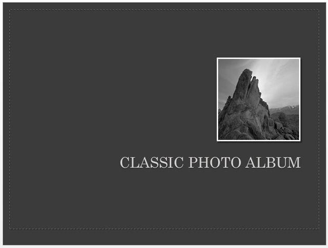 Clásico Álbum de Fotos
