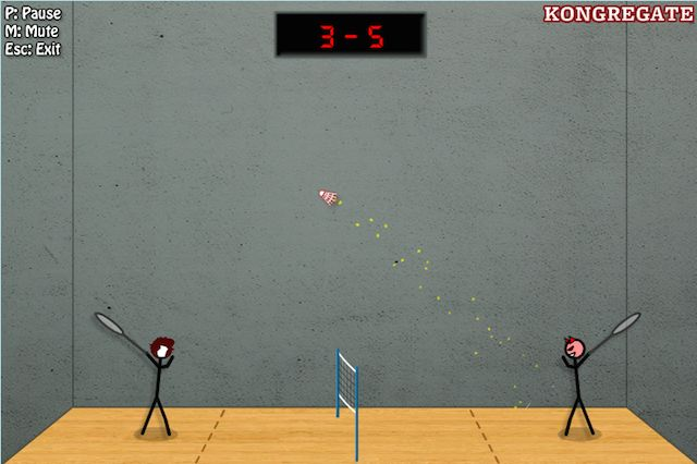 Stick-Badminton