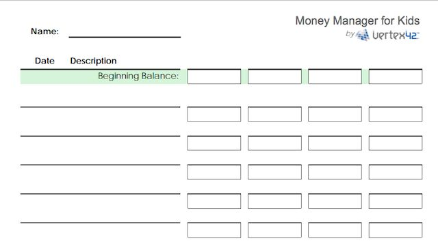hojas de cálculo-finanzas-kids