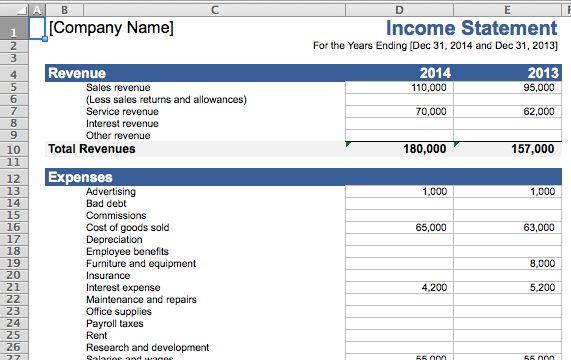 hojas de cálculo-finanzas-ingreso