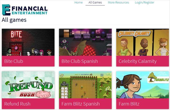 financialentertainmentorg en la Web
