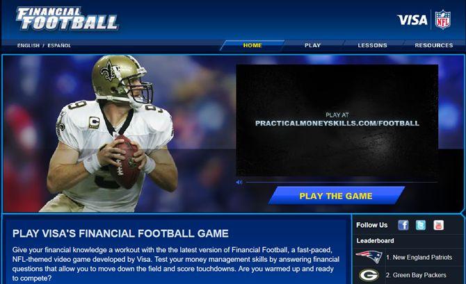 practicalmoneyskillsfootball en la Web