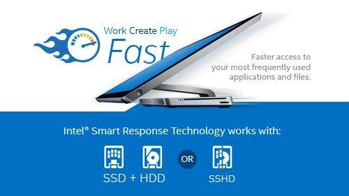 la tecnología de respuesta inteligente Intel