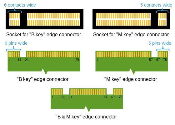 m2 conector de borde de manipulación