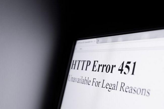 error HTTP 451