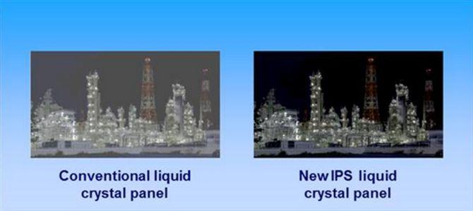 relación de contraste Panasonic