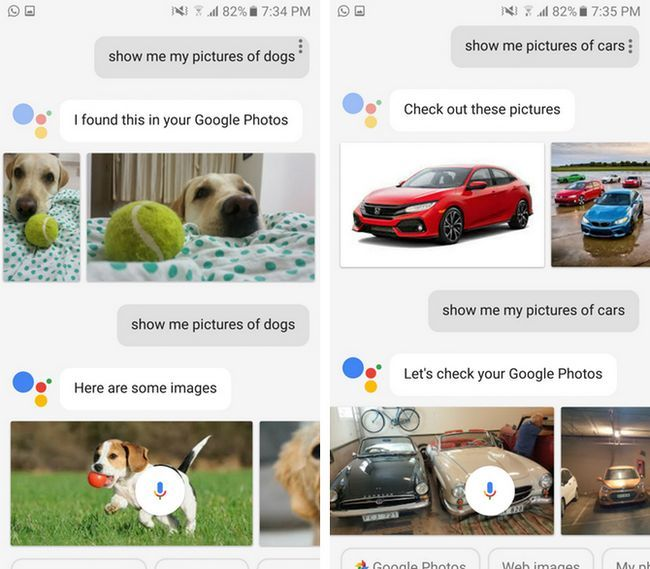 Google asistentes Google Fotos