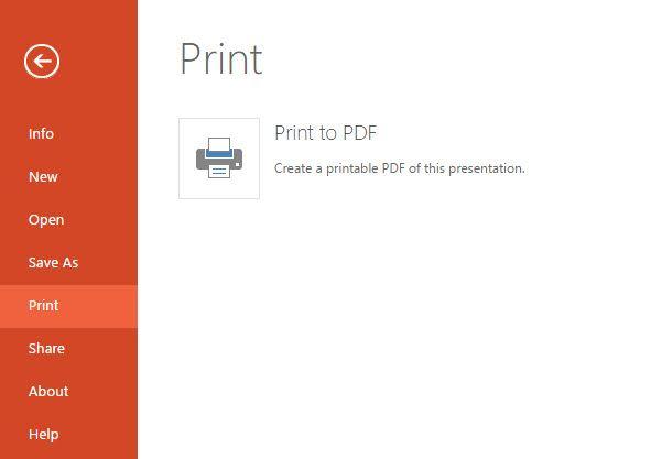 PowerPoint - Imprimir a PDF