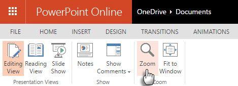 PowerPoint - Zoom