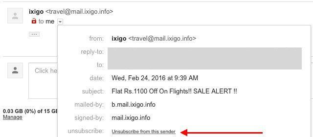 gmail-darse de baja