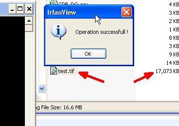 comandos de IrfanView