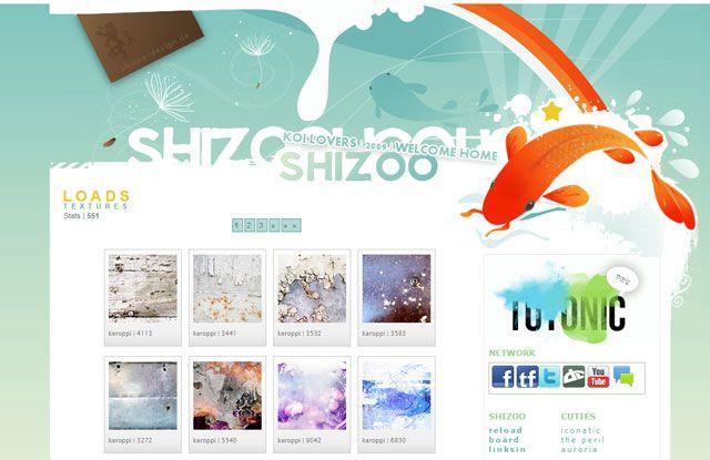 Photoshop Texturas - Shizoo