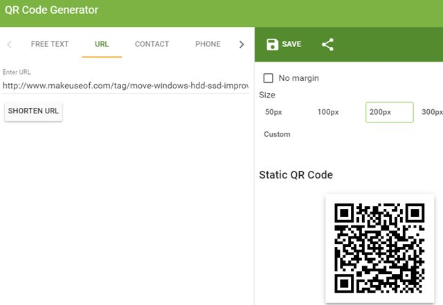 TheQRCodeExtensionChrome