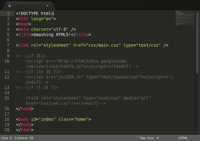 ubuntu-app-sublime-editor de texto