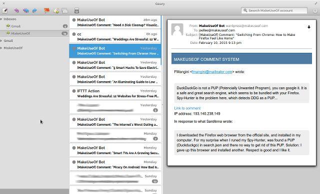 ubuntu-app-Geary-cliente de correo electrónico