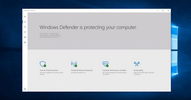 Windows 10 Creadores Update - Defender