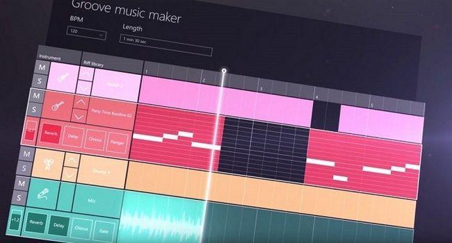 Windows 10 Creadores Update - Fabricante de Groove Music