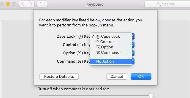 Disable-caps-lock