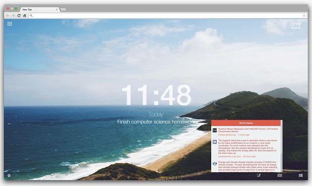 cromo-preciosas-new-tab-pages-Leoh
