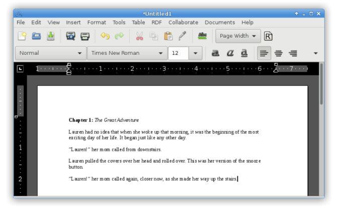 Ligera software de Linux - Procesador AbiWord Palabra